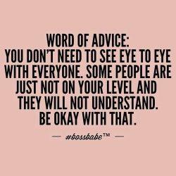 word of advice 🌸
