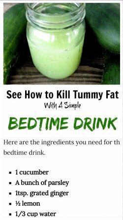 Kill tummy fat