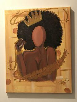 Golden Queen Art by me