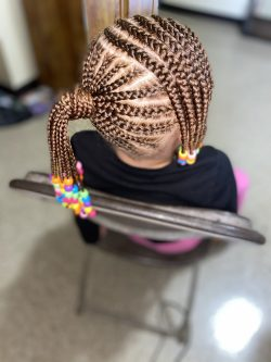 Kids Braid Style