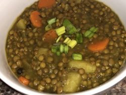 Vegan Lentil Curry Soup