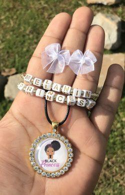 Melanin Princess Jewelry Set