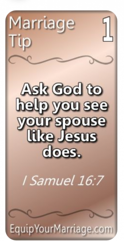 Marriage Tip #1