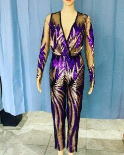 Sequin Jumpsuit