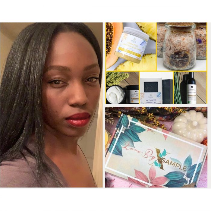 Love By XSample ~All natural, Vegan & Cruelty Free Self Care Box.