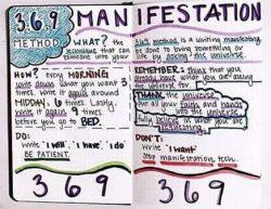 3 6 9 manifestation