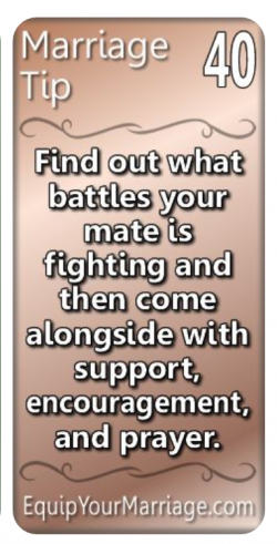 Marriage Tip #40