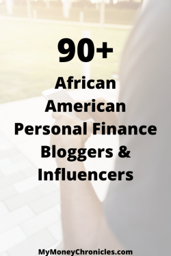 LIST OF AFRICAN AMERICAN PERSONAL FINANCE BLOGGERS