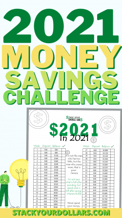 2021 Money Savings Challenge