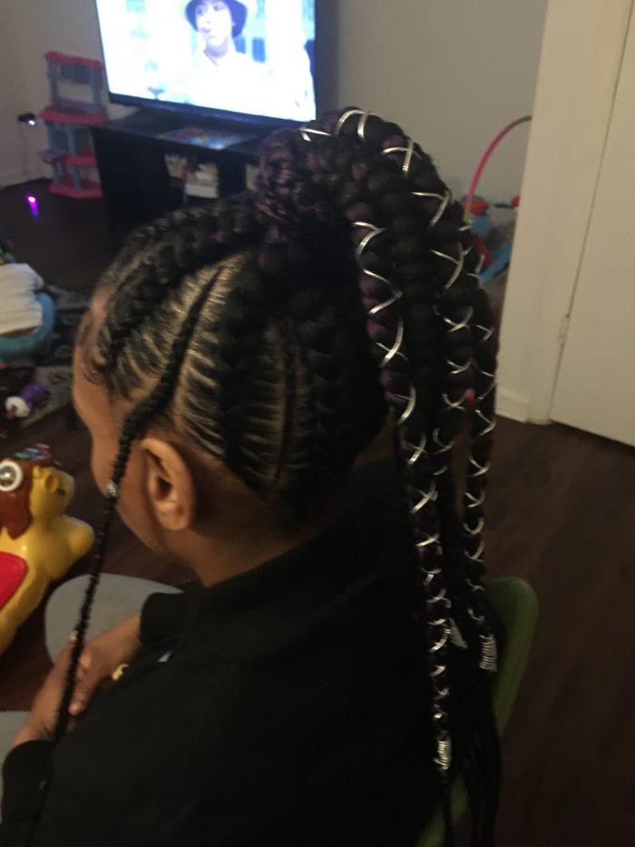 Feeder ponytail