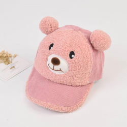 Toddler Teddy bear hat with ears