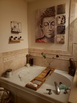 Spa bathroom makeover