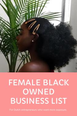 Female Black Owned Business List – Female Entrepreneurs – Boss Babes – Woman's ...