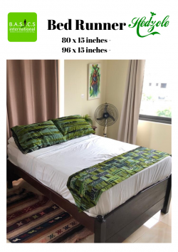 Made in Ghana Bed runners