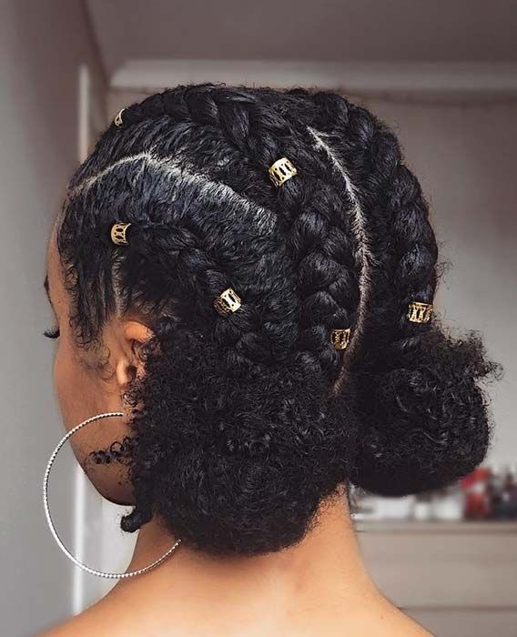 ❤️ braided hairstyles