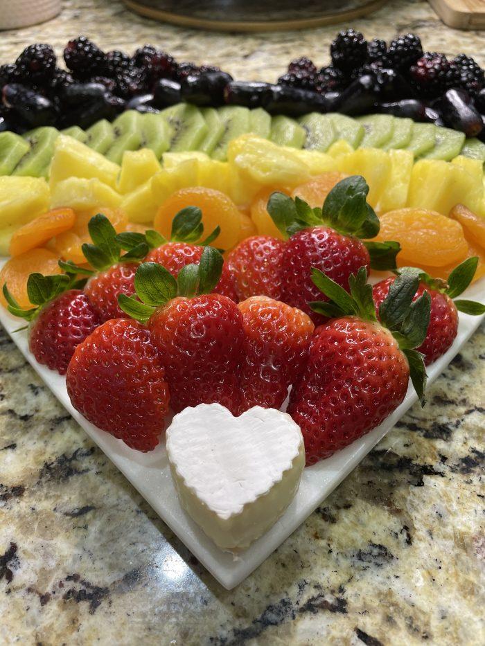 Rainbow Fruit Board