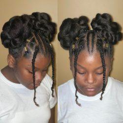 Little girl natural styles