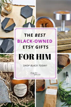Unique Black-Owned Etsy Gifts for Him