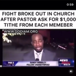 He was bout to get murdered in that church 😂😂😂