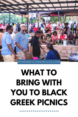 WHAT TO BRING WITH YOU TO BLACK GREEK PICNICS