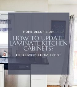 How to Update Laminate Kitchen Cabinets?