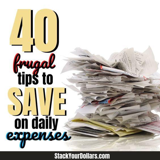 40 Frugal Ways To Save Money