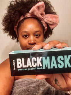 Black Charcoal Face Mask