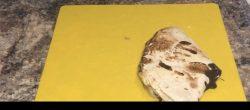 Peanut butter, banana & chocolate tortilla