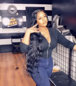 Frontal Lace Wig (Loose Deep Wave)