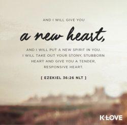 Challenge day 19- Ezekiel 36:26