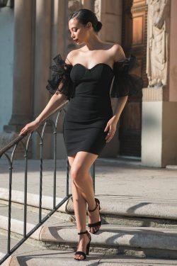 Off Shoulder Short Fashion Dress