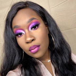 Black Girl Colorful Makeup Inspiration