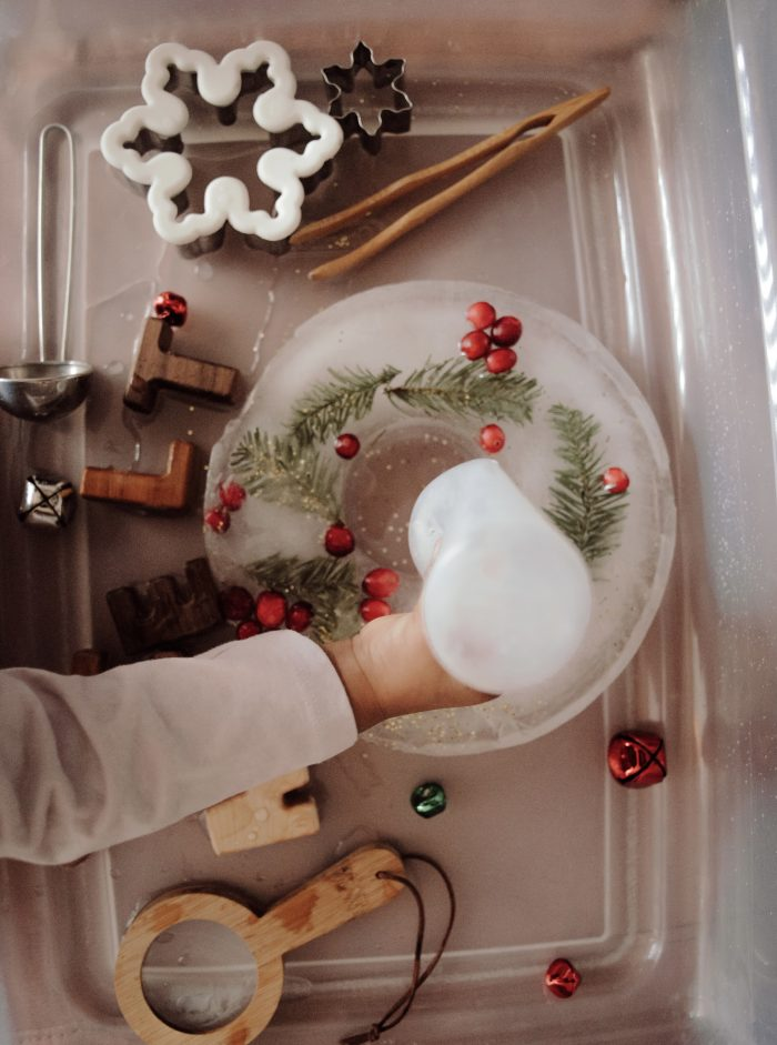 Ice Melt Wreath