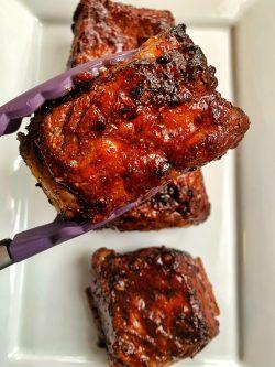 Sticky beef ribs