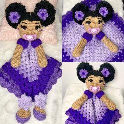 Hand made crochet dolls 💕