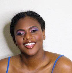 Pink& purple eyeshadow