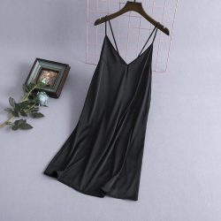 Comfy silk night dress