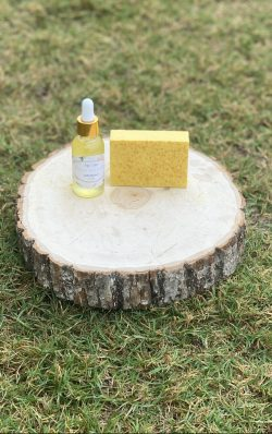 Turmeric and Honey Bar Bundle with Radiant skin Vitamin C Serum