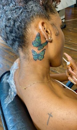Black girl tattoos