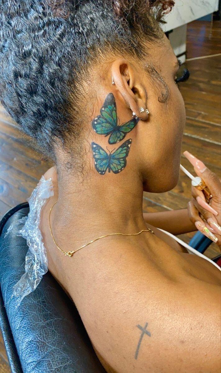Black girl tattoos