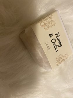 Honey and Oates homemade soap