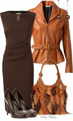 Brown and tan