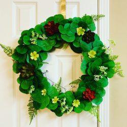 Greenery Door Wreath