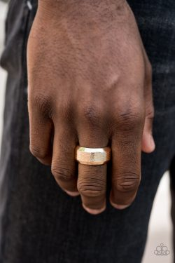 """Checkmate – Gold"" Ring"