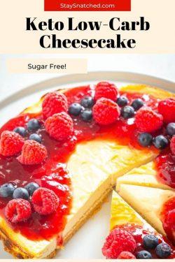 Sugar Free Cheesecake (Keto and Low-Carb)