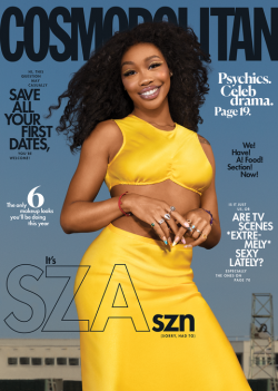 SZA looks amazing for the cover of Cosmopolitan February 2021 Issue!