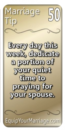 Marriage Tip #50