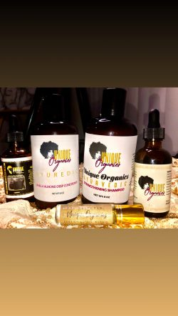 Unique Organics Haircare Products and Beard Oil