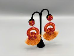 Viola Tassel Earrings