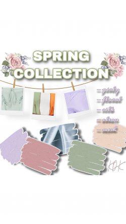 Spring collection prep